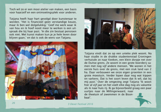 Behind the Curtain: Tatjana & haar GordijnKunst